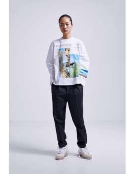 Photo Print T Shirt View All T Shirts Sale Woman by Zara