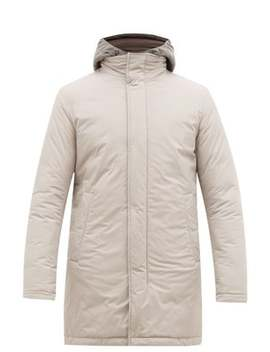 Gilet Insert Quilted Hooded Parka by Herno