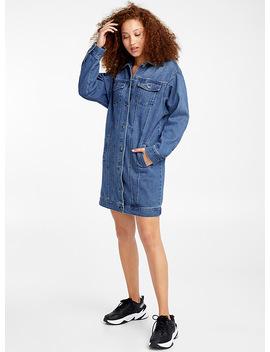 Ultra Long Jean Jacket by Icône