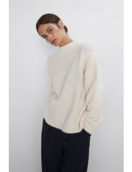 Sweater Oversize Ver Tudo Malha Mulher by Zara