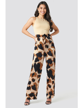 Fluid Wide Pants Multicolor by Na Kd