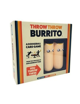 Throw Throw Burrito Board Game by Exploding Kittens