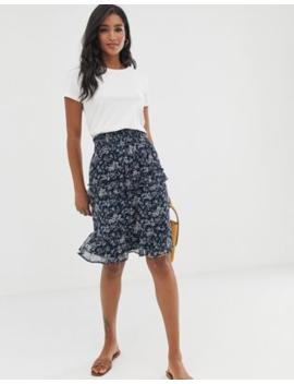 Vero Moda Floral Smock Skirt by Vero Moda