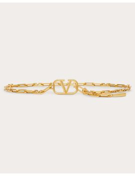 Metal V Chain Belt by Valentino