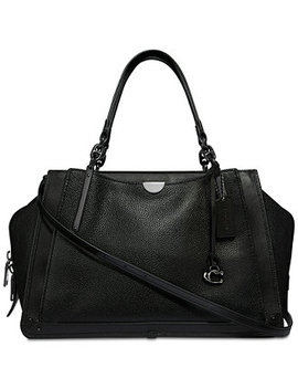 Dreamer 36 Satchel In Polished Pebble Leather by General