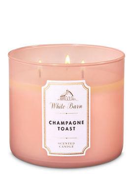 White Barn\N\N\N Champagne Toast\N\N\N3 Wick Candle    by White Barn