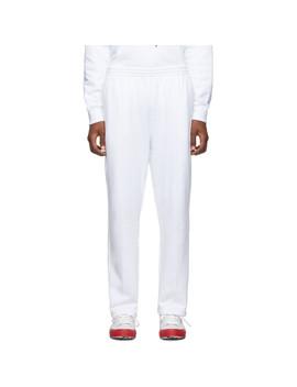 White Golf Le Fleur* Edition Terry Lounge Pants by Converse