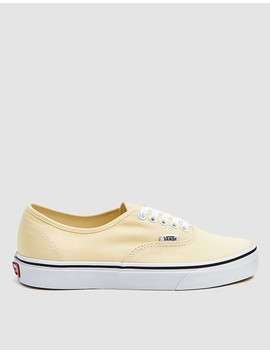 Authentic In Yellow Custard by Vans