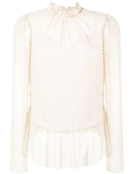 Blusa Con Ruches by See By Chloé