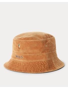 Corduroy Bucket Hat by Ralph Lauren