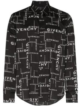 Repeat Logo Print Shirt by Givenchy
