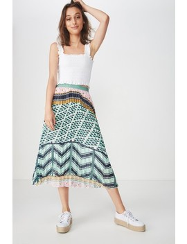 cotton-on-pleated-animal-midi-skirt by next