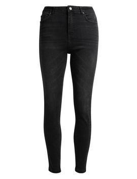 Schwarze Skinny Jeans Mit Hohem Bund by Primark