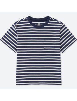 Boys Pocket Crew Neck Short Sleeve T Shirt by Uniqlo
