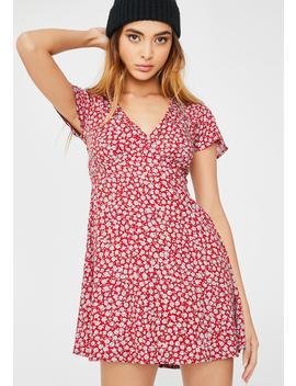 Ditsy Rose Elara Dress by Motel