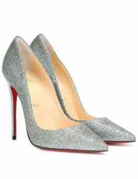 So Kate 120 Glitter Pumps by Christian Louboutin