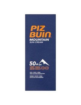 Piz Buin Mountain Suncream Spf50+ 50ml by Piz Buin