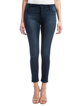 High Rise Stretch Ankle Skinny Jeans by Liverpool