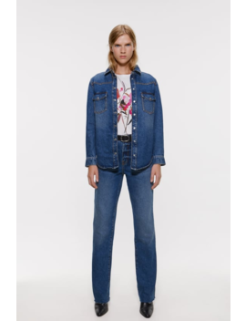 Front Print T Shirt View All T Shirts Woman by Zara