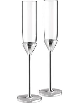 With Love Nouveau Toasting Flute Set Of 2 by Vera Wang @ Wedgwood
