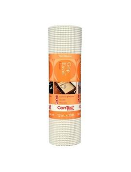 Con Tact Brand® Grip Premium Non Adhesive Shelf Liner  Excel Grip White (12''x 10') by Tact Brand® Grip Premium Non