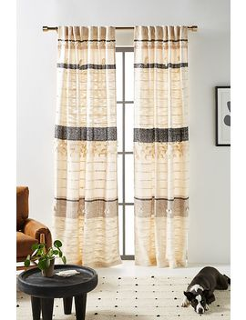 All Roads Tasseled Curtain by Anthropologie