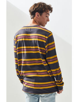 Pac Sun Dystopia Long Sleeve Striped T Shirt by Pacsun