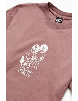 Obey Curious Kiddos T Shirt by Pacsun