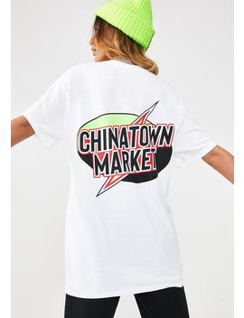 Lightning T Shirt by Chinatown Market