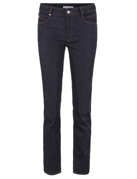 Regular Fit Cropped Jeans In Luxury Comfort Stretch Denim by Boss