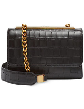 Cooper Leather Flap Crossbody, Created For Macy's by General