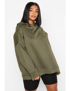 Plus Oversized Supersoft Hoody by Boohoo