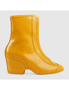 Water Resistant Ankle Boot by Gucci