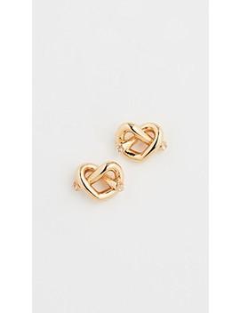 Love Me Knot Stud Earrings by Kate Spade New York