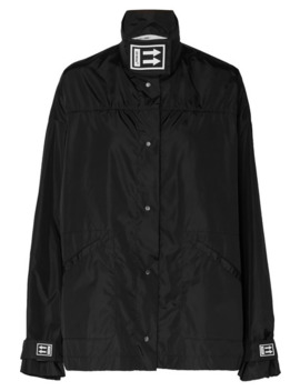 Appliquéd Shell Jacket by Off White