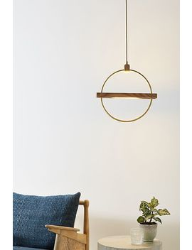Bisected Orb Pendant by Anthropologie