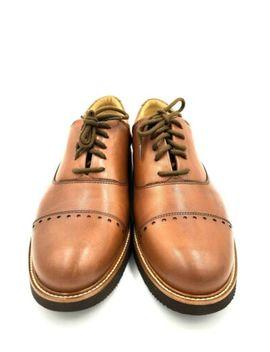 "Samuel Hubbard Men's 10.5 M ""Market Cap"" Whiskey Leather 03 133 4 by Samuel Hubbard"