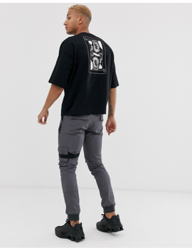 Asos Design – Oversize T Shirt Mit Großem Skizzenprint by Asos