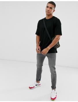 New Look – Oversize T Shirt In Schwarz by Asos