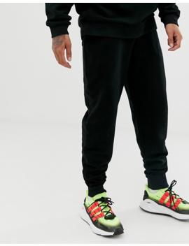 Asos Design – Oversize Trainingsanzug Mit Jogginghose In Karottenform, Schwarz by Asos