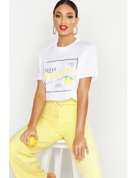 Lemonade Slogan T Shirt by Boohoo