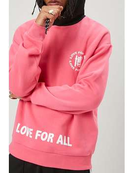 Love Graphic Hoodie by Forever 21