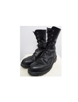 austrian-army-boots-black-leather-paratrooper-para-shoes-combat-assault-military-mountain-large by etsy