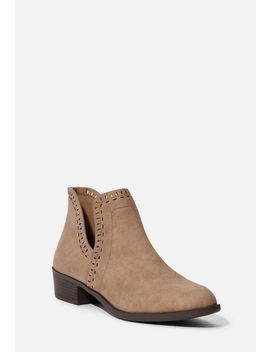 Tommi Cutout Bootie by Justfab