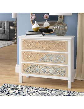 Fernwood 3 Drawer Accent Chest by Willa Arlo Interiors