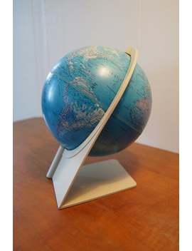 1976 Scan Globe A/S Havdrup/Danmark Plastic Frame Swivel Karl F. by Etsy