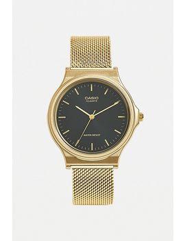 Casio Gold Vintage Round Watch by Casio