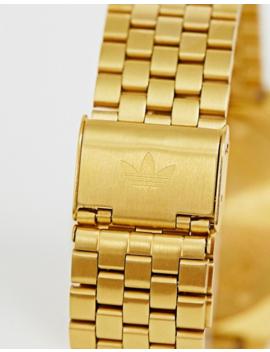 Adidas M3 Process Chrono Bracelet Watch In Gold by Adidas