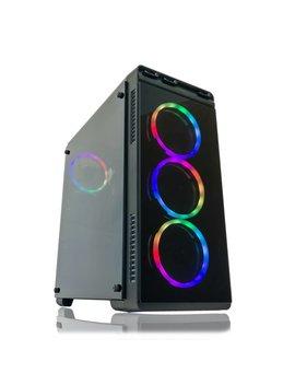 Alarco Gaming Pc Desktop Computer Intel I5 3.10 G Hz,8 Gb Ram,1 Tb Hdd,Windows 10 Pro,Wi Fi ,Nvidia Gtx 650 1 Gb, Rgb by Alarco