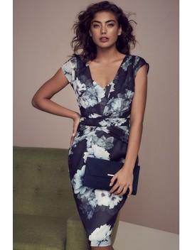 lipsy-petite-alana-floral-dress by next